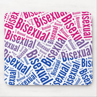 BISEXUAL WORD PATTERN FLAG -.png Mouse Pad