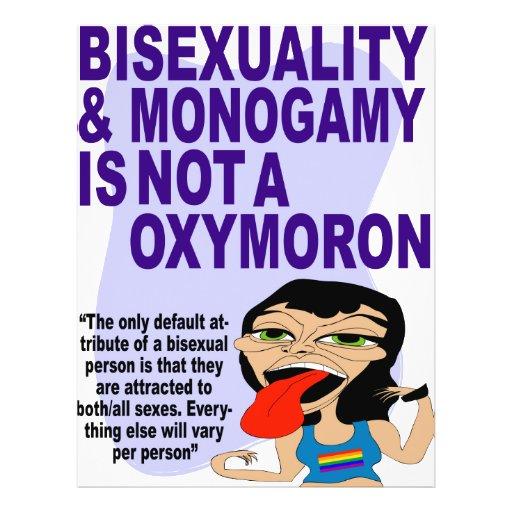 Bisexuality & Monogamy Personalized Flyer