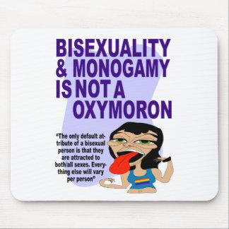 Bisexuality y monogamia alfombrilla de ratón