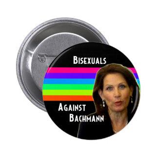 Bisexuals contra el botón de Bachmann Pin Redondo De 2 Pulgadas