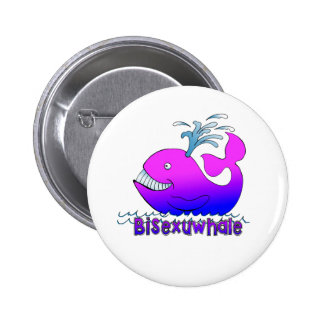 Bisexuwhale Pins