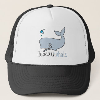 BISEXUWHALE TRUCKER HAT