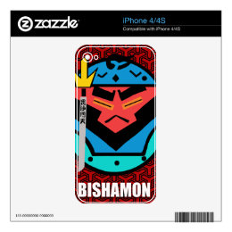 Bishamon Japanese Good Luck Victory iPhone 4S Skin