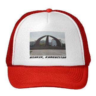 Bishkek, Kyrgyzstan Victory Square - World War II Trucker Hat