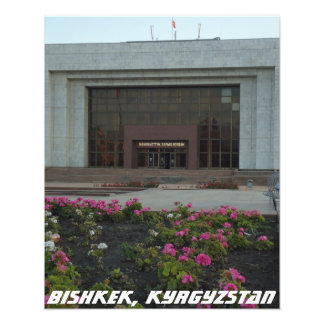 Bishkek National Museum - Kyrgyzstan Photo Print