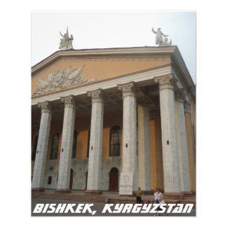 Bishkek National Theater - Kyrgyzstan Photo Print
