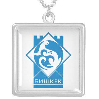 Bishkek Pride Silver Plated Necklace