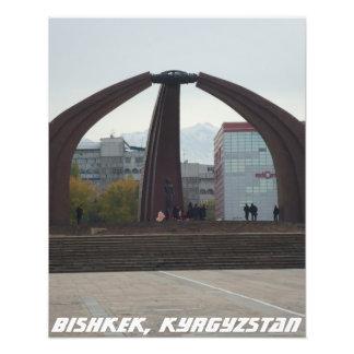 Bishkek Victory Square - Kyrgyzstan Photo Print