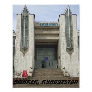 Bishkek Wedding Palace - Kyrgyzstan Photo Print