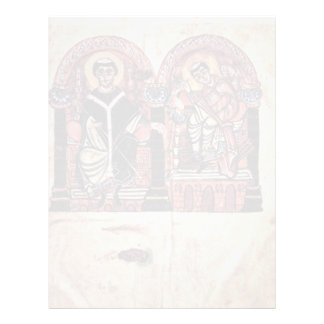 Bishop Braulio And Isidore Of Seville By Meister D Letterhead