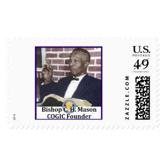 Bishop C.H. Mason Commemorative Stamp (Horiz.)