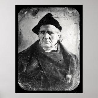 Bishop Chase Daguerreotype 1846 Poster