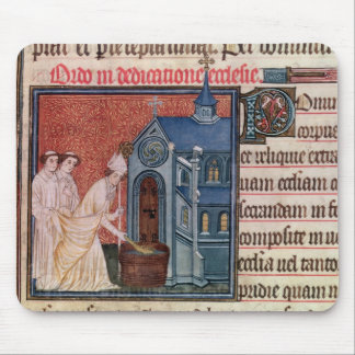 Bishop Consecrating a church Mouse Pad