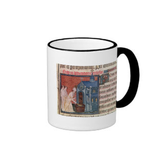 Bishop Consecrating a church Ringer Coffee Mug