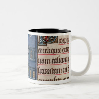Bishop Consecrating a church Two-Tone Coffee Mug