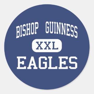 Bishop  Guinness - Eagles - High - Kernersville Classic Round Sticker