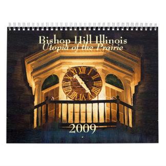 Bishop Hill Illinois 2009 Calendar - Customized