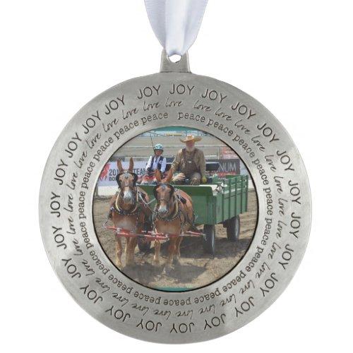 Bishop Mule Days 2018 Ornament