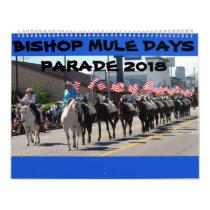 Bishop Mule Days Parade of 2018 Calendar