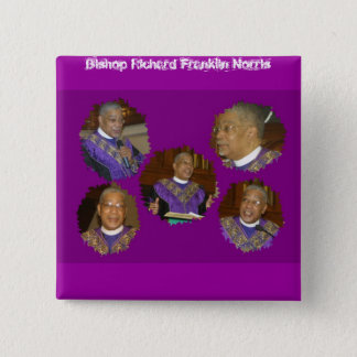 Bishop Norris 2A, Bishop Richard Franklin Norris Pinback Button