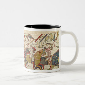 Bishop Odo Holding a Baton Two-Tone Coffee Mug