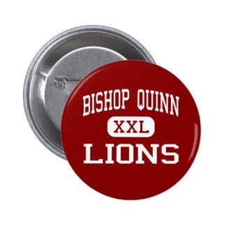 Bishop Quinn - Lions - High - Palo Cedro Pinback Buttons