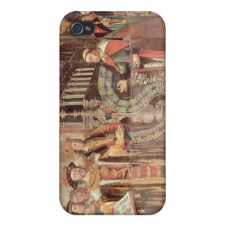 Bishop Robert Sherburne with Henry VIII iPhone 4/4S Cover