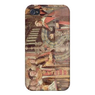 Bishop Robert Sherburne with Henry VIII iPhone 4 Cover