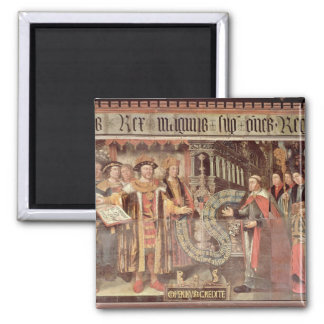 Bishop Robert Sherburne with Henry VIII Magnet