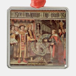 Bishop Robert Sherburne with Henry VIII Metal Ornament
