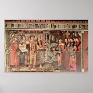 Bishop Robert Sherburne with Henry VIII Poster