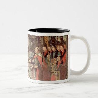 Bishop Robert Sherburne with Henry VIII Two-Tone Coffee Mug