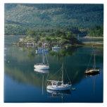 Bishops Bay, Loch Leven, Ballachullish, Large Square Tile