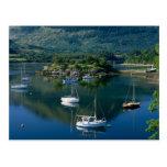 Bishops Bay, Loch Leven, Ballachullish, Postcard