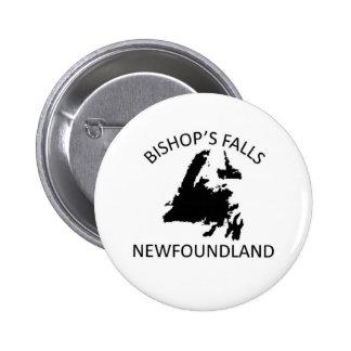 Bishop's falls 2 inch round button