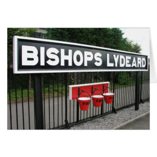 Bishops Lydeard station, West Somerset Railway Card