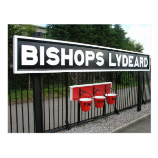Bishops Lydeard station, West Somerset Railway Postcard