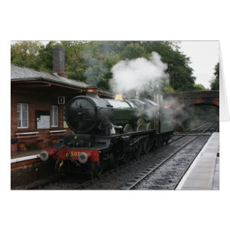 Bishops Lydeard station, West Somerset Railway, UK Card