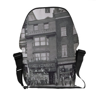Bishopsgate, from 'Historic London Buildings' by A Messenger Bag