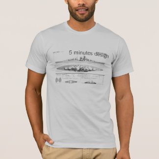 bismarck, 5 minutes design T-Shirt