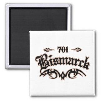 Bismarck 701 fridge magnet
