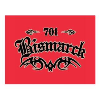 Bismarck 701 tarjeta postal