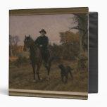Bismarck a caballo con el perro