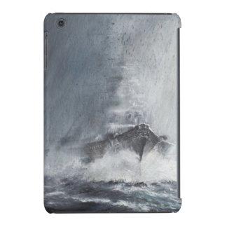 Bismarck a través de las cortinas del aguanieve de fundas de iPad mini retina