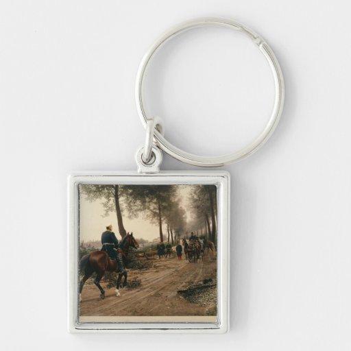 Bismarck and Napoleon Key Chain