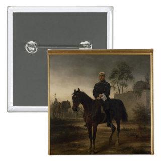 Bismarck antes de París, 1873 Pin Cuadrada 5 Cm