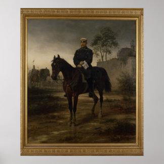 Bismarck before Paris, 1873 Poster