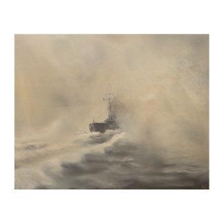 Bismarck evade el su los persuers 25 de mayo de cuadro de madera