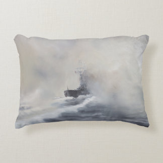 Bismarck evades her persuers May 25th 1941. 2005 Accent Pillow