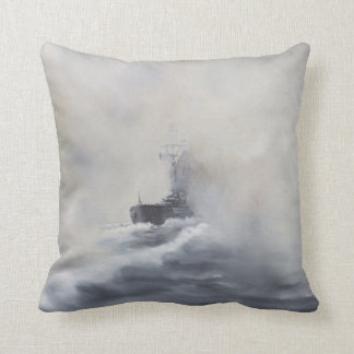 Bismarck evades her persuers May 25th 1941. 2005 Throw Pillows